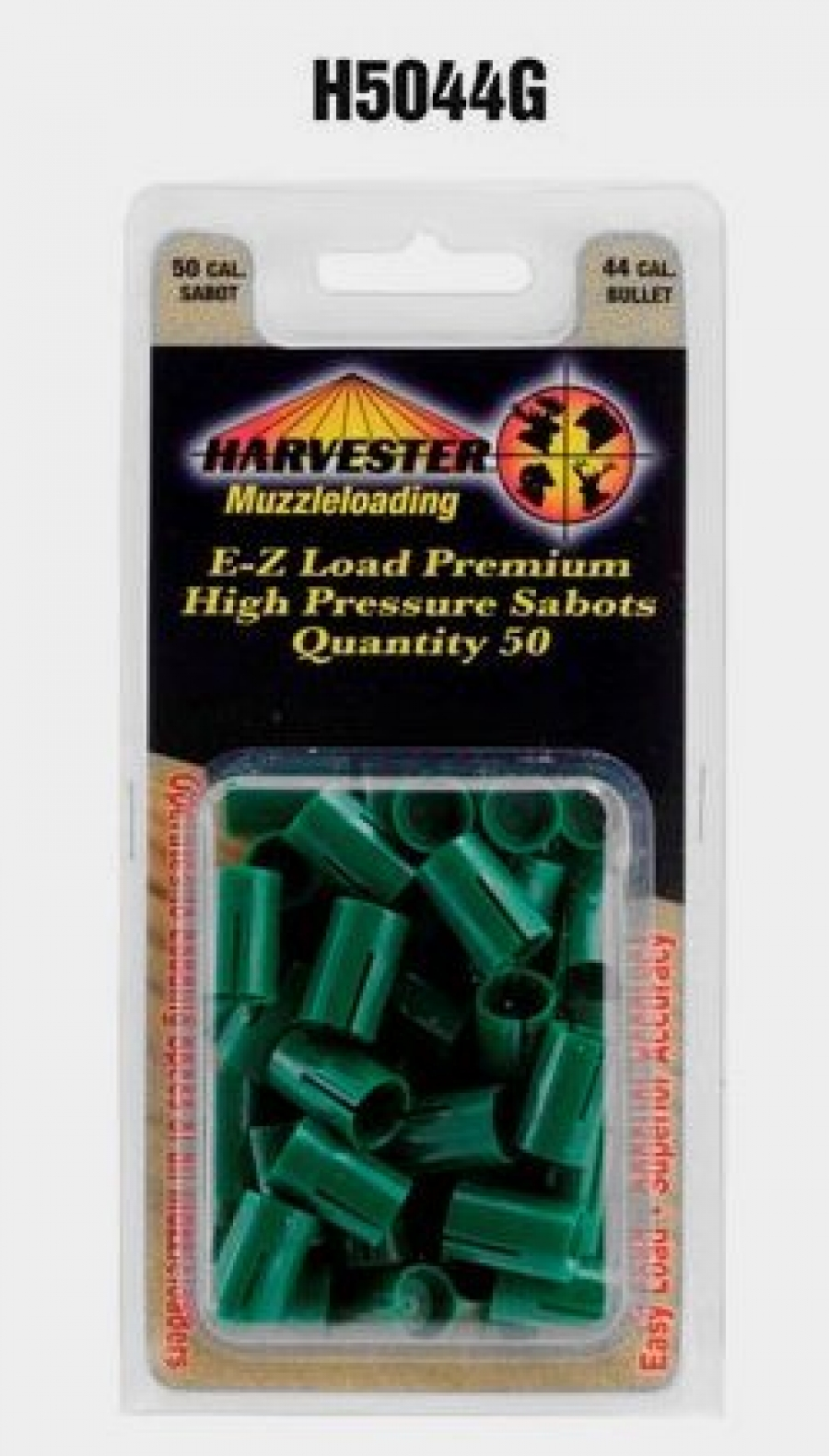 50 Cal Sabot for .429-.430 Cal Bullet - Pack Qty: 50