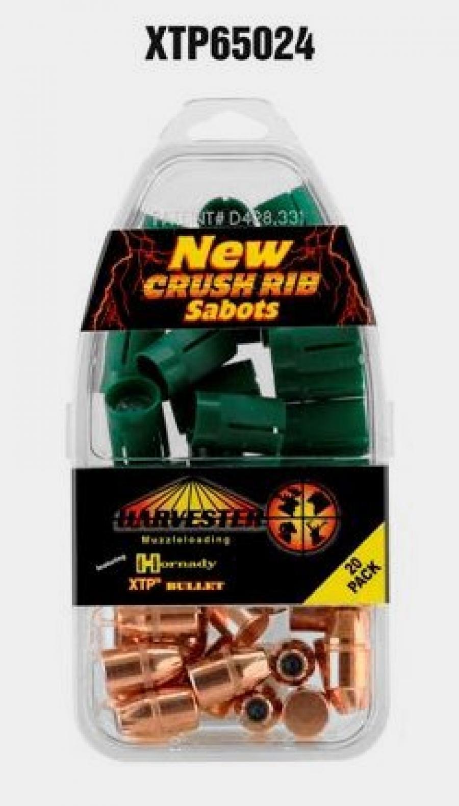 50 Cal. Sabot 240 gr. .430 Hornady XTP Bullet - Pack Qty: 20