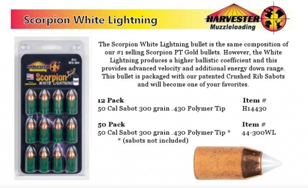 Scorpion White Lightning