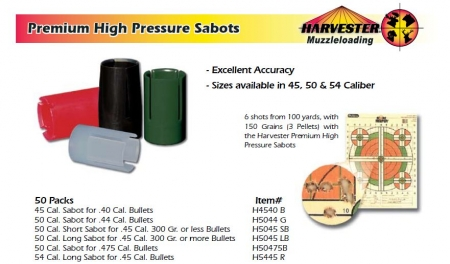 High Pressure Sabots